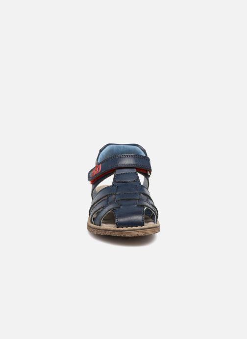 Sandales et nu-pieds Stones and Bones Dello Bleu vue portées chaussures
