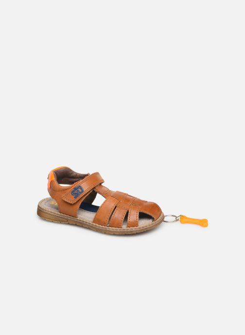 Sandales et nu-pieds Stones and Bones Dello Marron vue 3/4