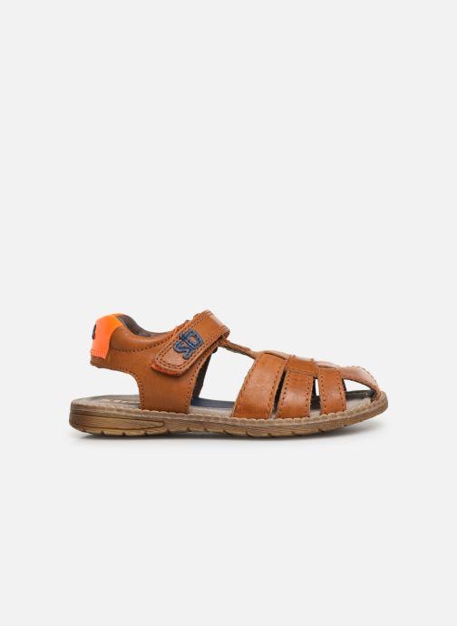 Sandales et nu-pieds Stones and Bones Dello Marron vue derrière