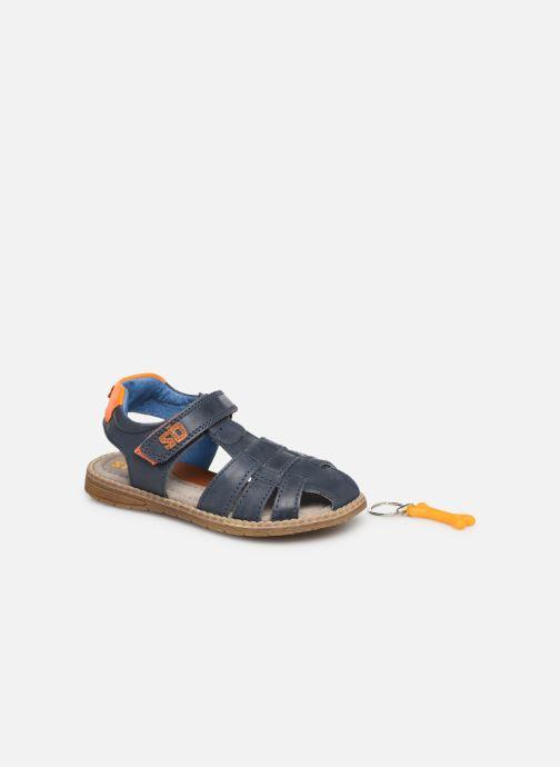Sandales et nu-pieds Stones and Bones Dello Bleu vue 3/4