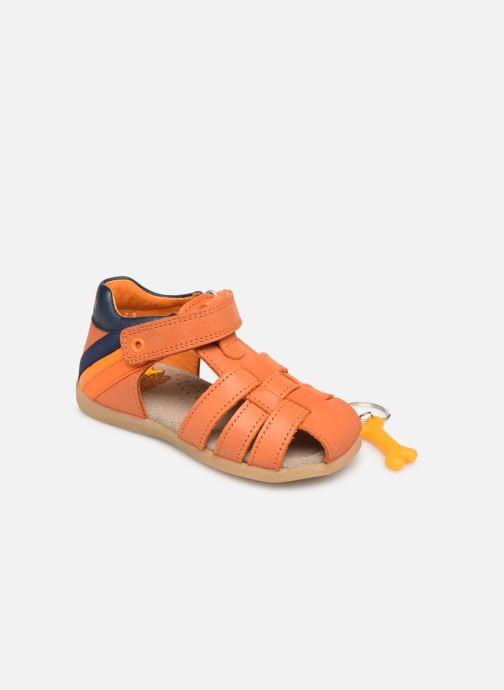 Sandales et nu-pieds Stones and Bones Maro Orange vue 3/4