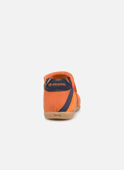 Sandales et nu-pieds Stones and Bones Maro Orange vue droite