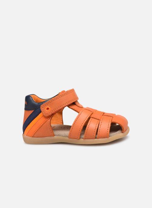 Sandales et nu-pieds Stones and Bones Maro Orange vue derrière