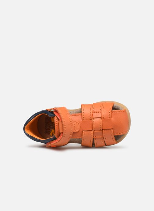 Sandales et nu-pieds Stones and Bones Maro Orange vue gauche