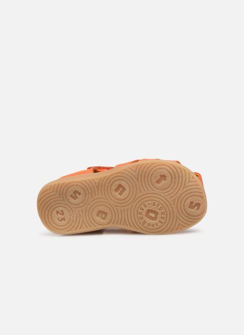 Sandales et nu-pieds Stones and Bones Maro Orange vue haut