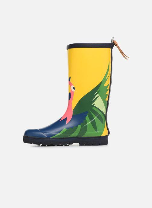 Støvler & gummistøvler Aigle Woody Pop Fun Gul se forfra