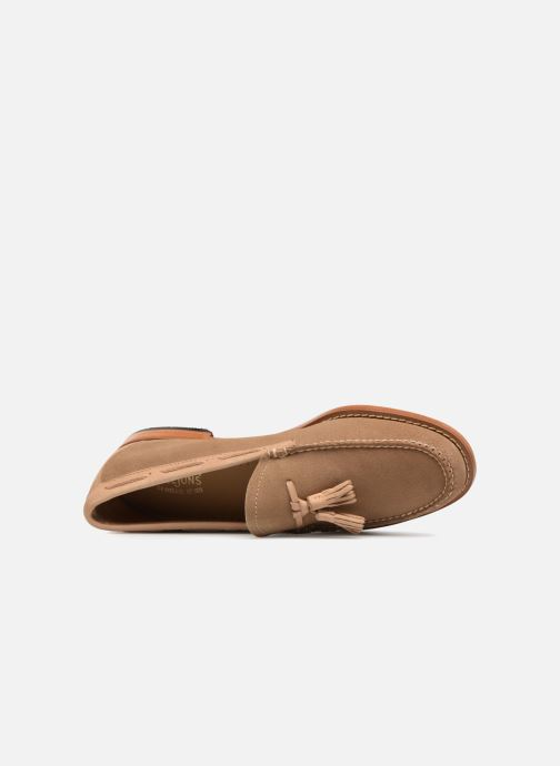 Loafers G.H. Bass WEEJUN Larkin Reverso Beige view from the left