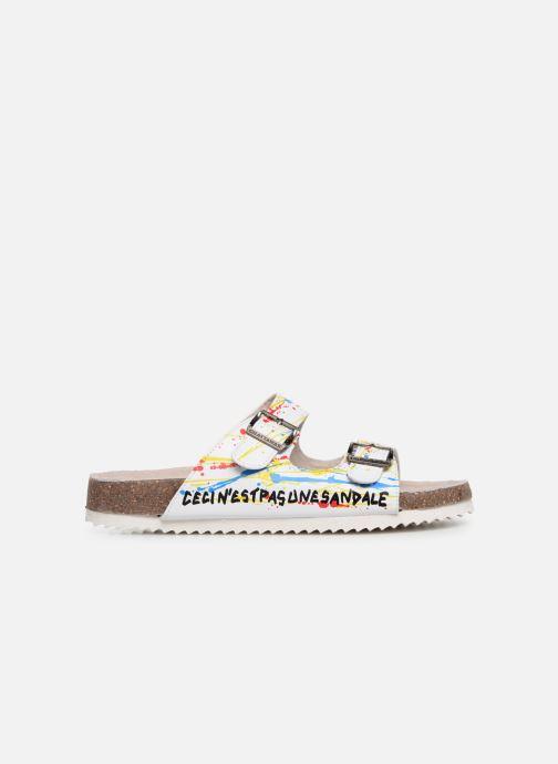 Sandales et nu-pieds Chattawak LOS ANGELES Multicolore vue derrière
