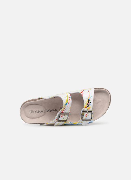 Sandales et nu-pieds Chattawak LOS ANGELES Multicolore vue gauche
