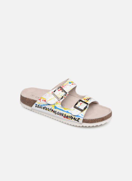 Sandales et nu-pieds Chattawak LOS ANGELES Multicolore vue détail/paire