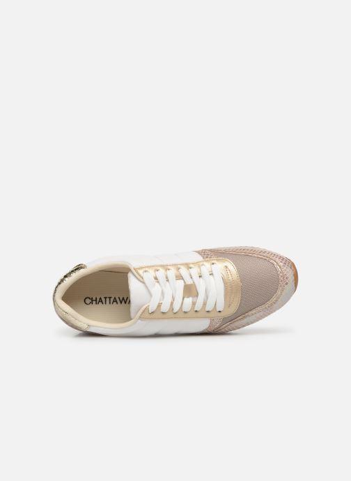 Sneakers Chattawak LONDRES Goud en brons links