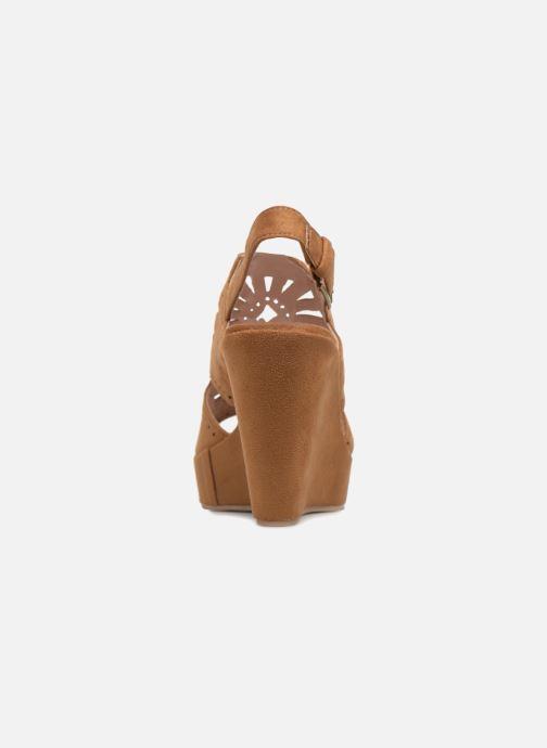 Sandales et nu-pieds Chattawak LISERON Marron vue droite
