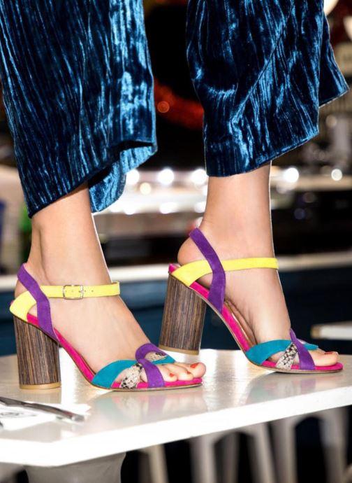 Sandalias Made by SARENZA Carioca Crew Sandales à Talons #3 Multicolor vista de abajo