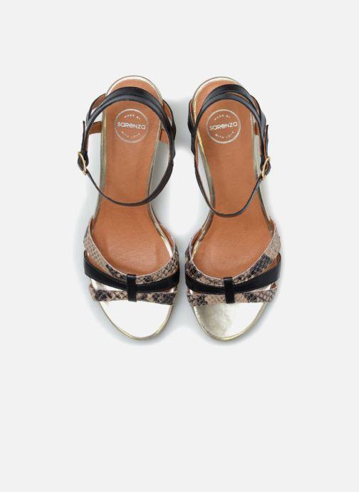 Sandales et nu-pieds Made by SARENZA Carioca Crew Sandales à Talons #4 Multicolore vue portées chaussures