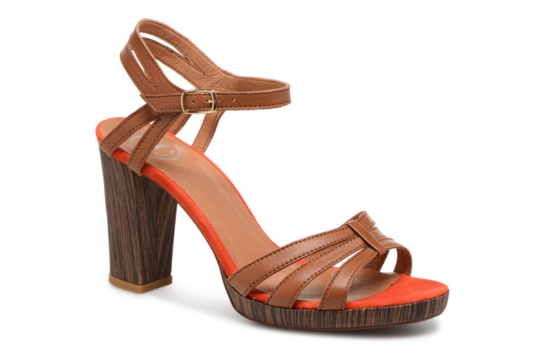Sandales et nu-pieds Made by SARENZA Carioca Crew Sandales à Talons #7 Marron vue droite