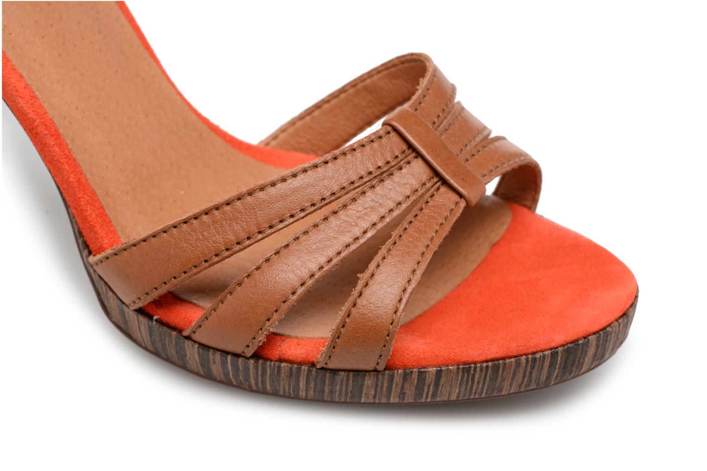 Sandales et nu-pieds Made by SARENZA Carioca Crew Sandales à Talons #7 Marron vue gauche