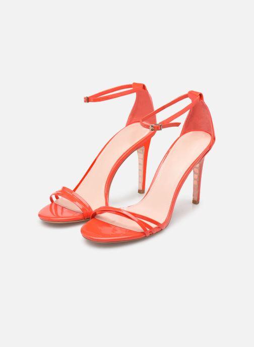 Sandalen Dune London MARABELLA orange ansicht von unten / tasche getragen