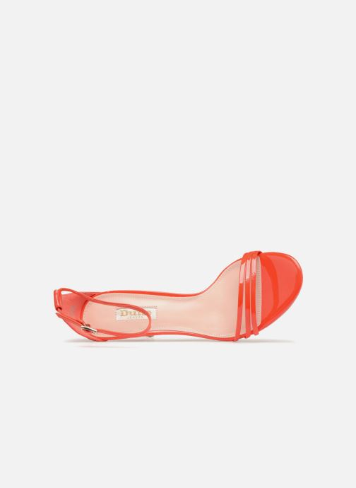 Sandales et nu-pieds Dune London MARABELLA Orange vue gauche