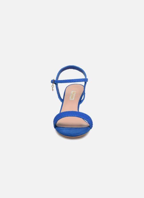 Sandales et nu-pieds Dune London MONNROW Bleu vue portées chaussures