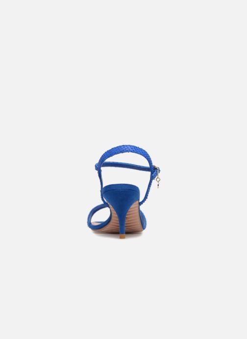 Sandales et nu-pieds Dune London MONNROW Bleu vue droite