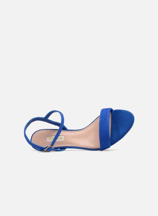 Sandales et nu-pieds Dune London MONNROW Bleu vue gauche