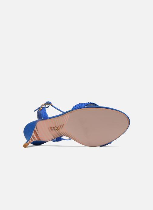 Sandales et nu-pieds Dune London MONNROW Bleu vue haut