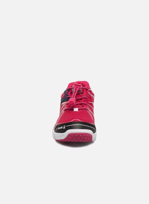 Chaussures de sport Kamik Furylow gtx Rose vue portées chaussures