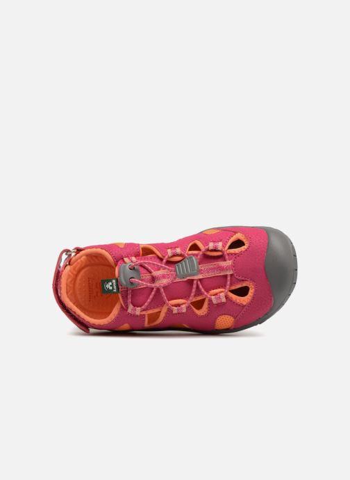 Sandales et nu-pieds Kamik Oyster2 Rose vue gauche