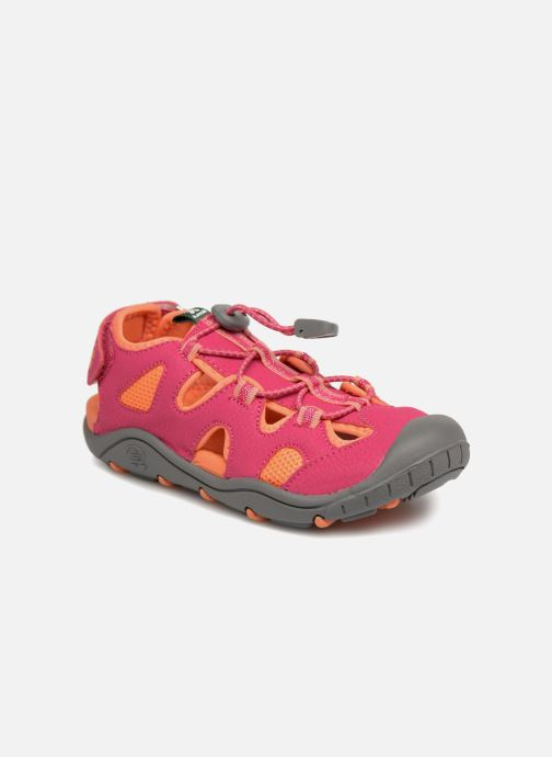 Sandals Kamik Oyster2 Pink detailed view/ Pair view