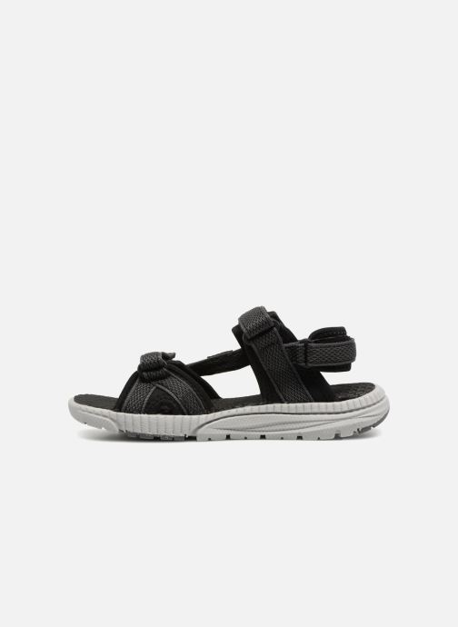 Sandales et nu-pieds Kamik Match Noir vue face