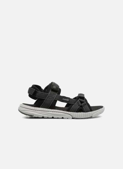 Sandales et nu-pieds Kamik Match Noir vue derrière