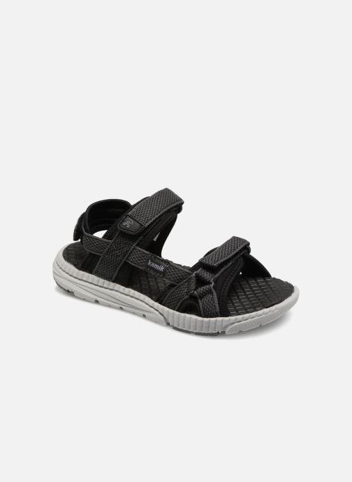 Sandales et nu-pieds Kamik Match Noir vue détail/paire
