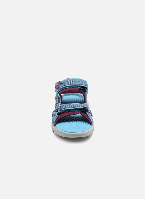 Sandales et nu-pieds Kamik Match Bleu vue portées chaussures