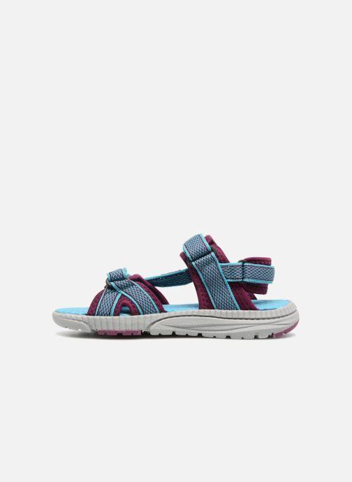 Sandales et nu-pieds Kamik Match Bleu vue face