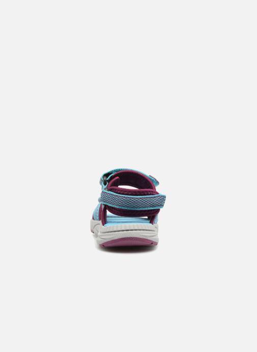 Sandales et nu-pieds Kamik Match Bleu vue droite
