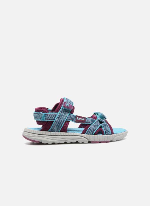 Sandales et nu-pieds Kamik Match Bleu vue derrière