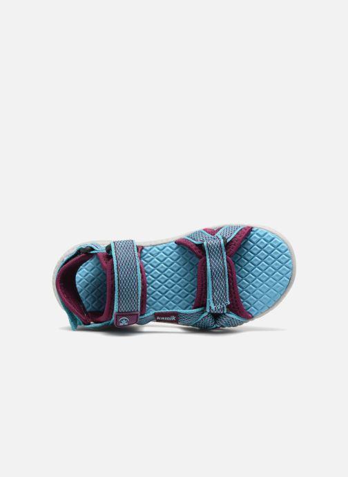 Sandales et nu-pieds Kamik Match Bleu vue gauche