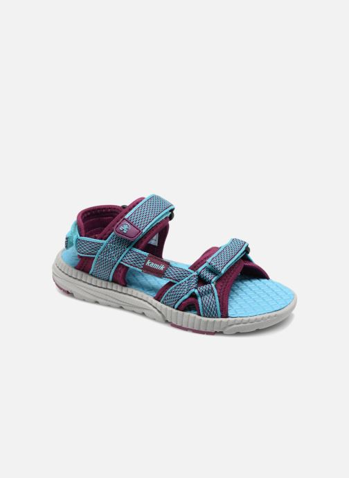 Sandales et nu-pieds Kamik Match Bleu vue détail/paire