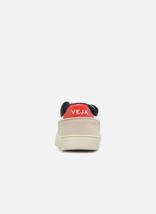 Trainers Veja V-12 Small Velcro White view from the right
