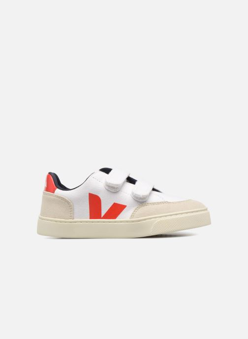 Trainers Veja V-12 Small Velcro White back view