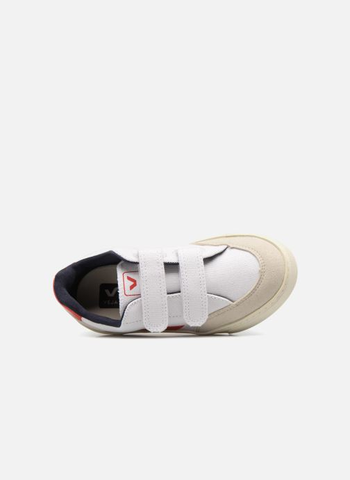 Trainers Veja V-12 Small Velcro White view from the left