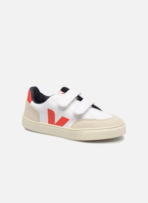 Trainers Veja V-12 Small Velcro White detailed view/ Pair view