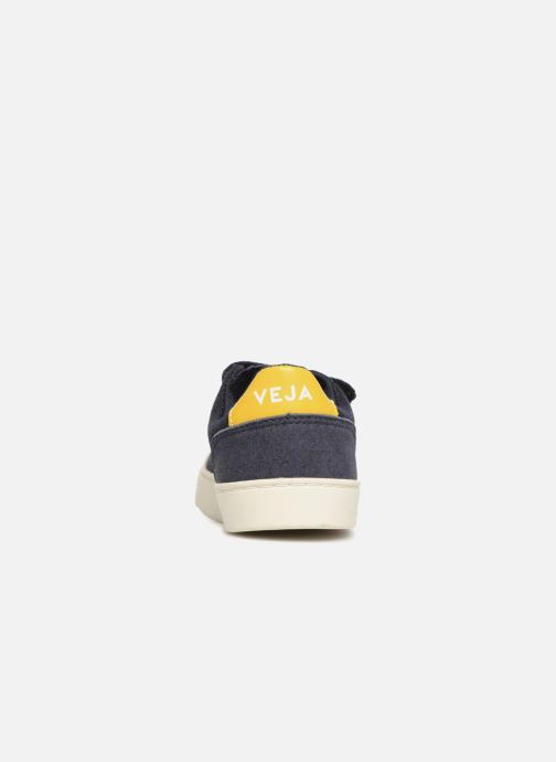Trainers Veja V-12 Small Velcro Blue view from the right