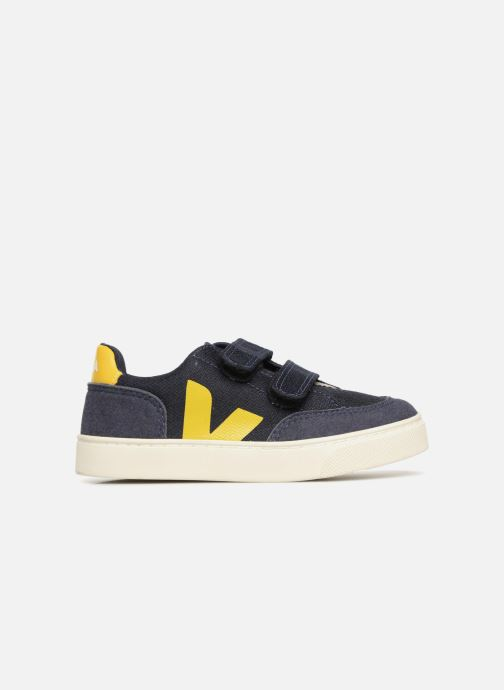 Trainers Veja V-12 Small Velcro Blue back view