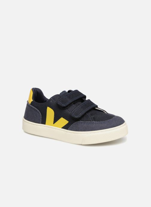Trainers Veja V-12 Small Velcro Blue detailed view/ Pair view
