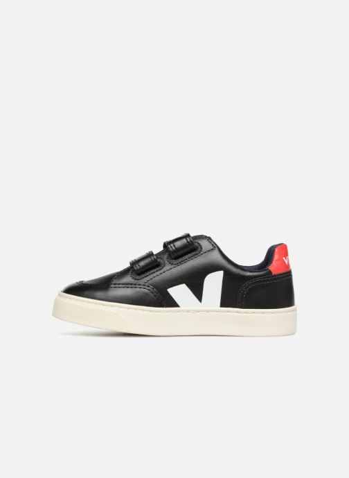 Trainers Veja V-12 Small Velcro Black front view