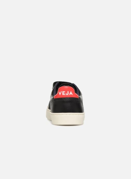 Trainers Veja V-12 Small Velcro Black view from the right