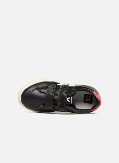 Trainers Veja V-12 Small Velcro Black view from the left