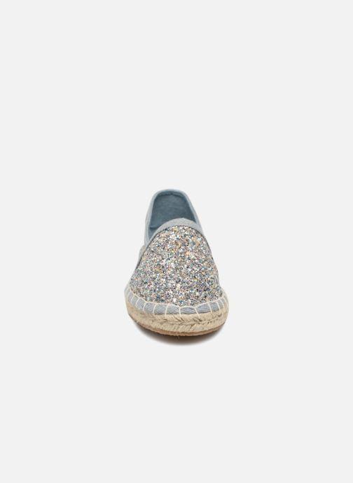 Espadrilles ONLY EVA Bleu vue portées chaussures