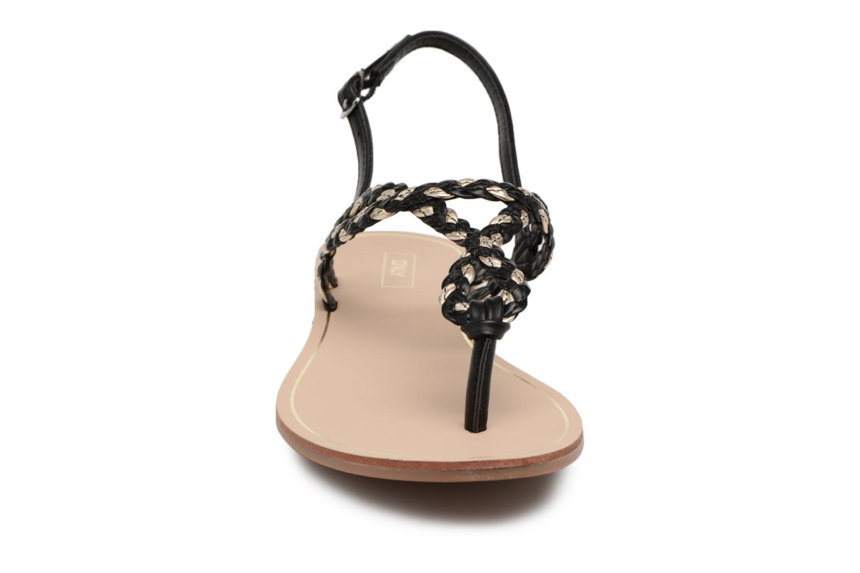 Sandales et nu-pieds ONLY MARGIT Noir vue portées chaussures